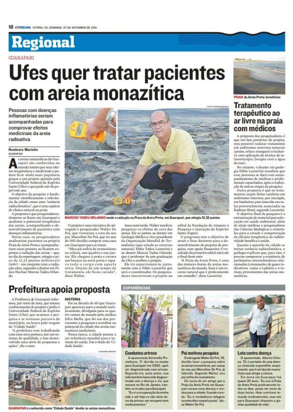 Areias Radioativas de Guarapari