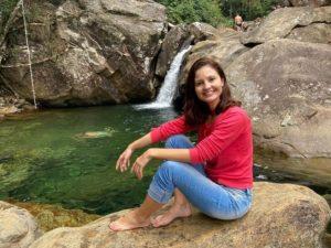 O Parque Hidrolândia ficou conhecido no Caparaó Capixaba por causa das cachoeiras de águas claras e geladas.